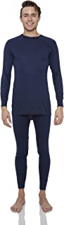 Thermal Underwear for Men Smooth Knit Thermals Men's Base Layer Long John Set