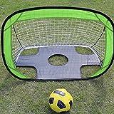 ROMACK Portería de fútbol Portería de fútbol Diseño de Doble Uso para Exteriores para niños para Interiores
