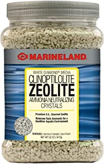Marineland White Diamond 50 Ounces, Removes Toxic Ammonia, aquarium Filter Media