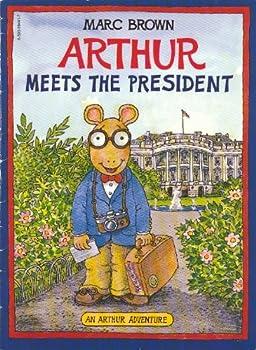 Paperback Arthur Meets the President Book