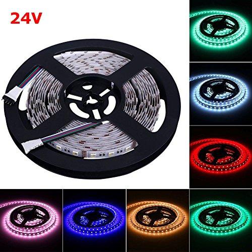 24V RGBWW LED Streifen LED Band LED Strip 5050 SMD RGB+Warmweiss 4 in1 LED Lichtleiste