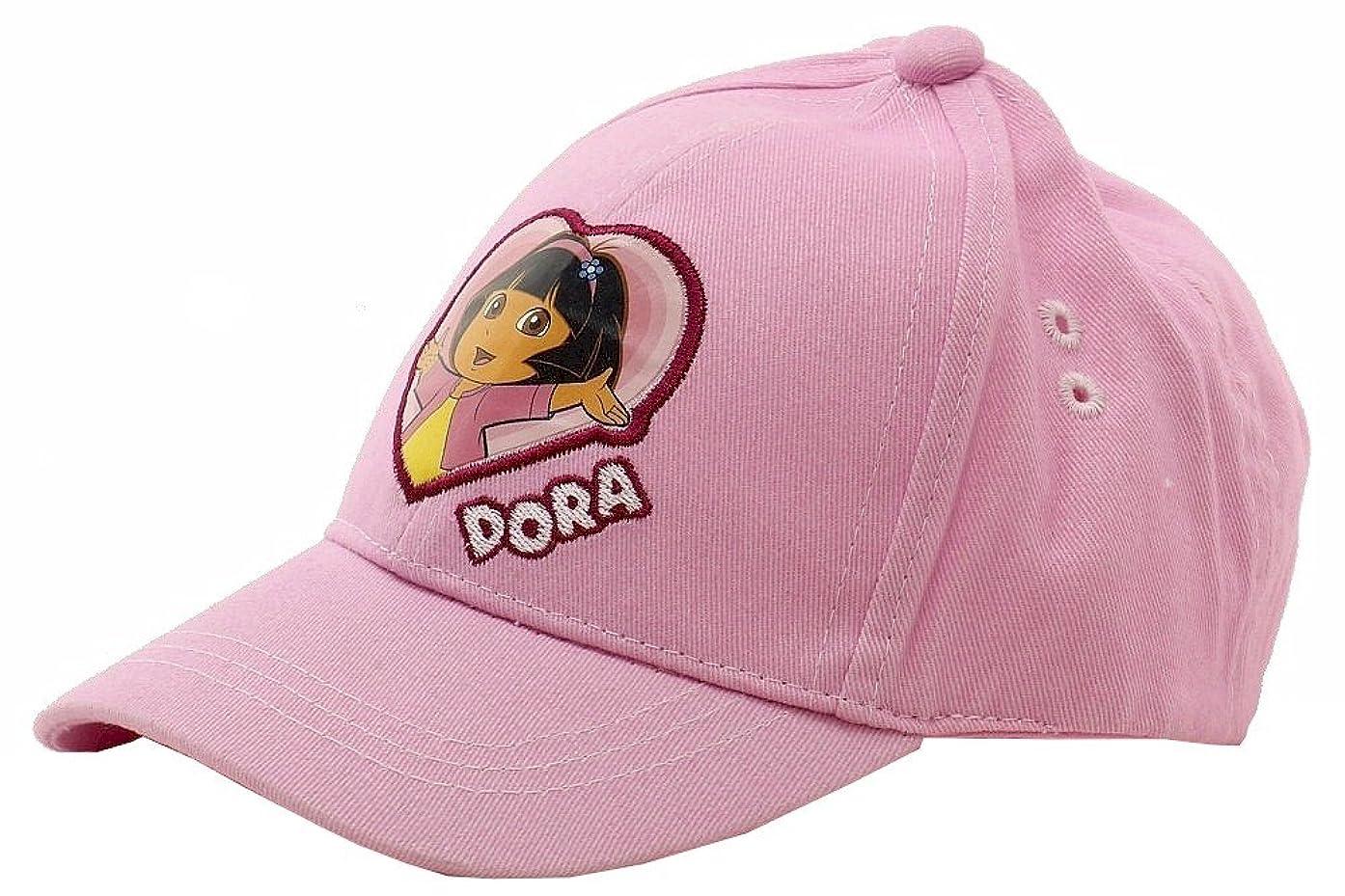 Dora the Explorer Nick Jr Infant Girl's Pink Baseball Cap 0-18 Months