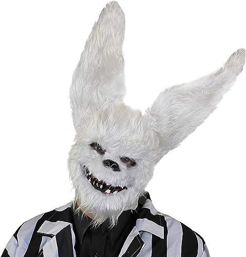 Erwachsene pelzig WeißH hen Halloween Maske - perfekt Zubeh für Größelig Kostüm - EinheitsGröße passt meisten - erh lich in mehrfach-pack Grün  Packung 1,3er Pack 6er Pack, mit 12 - X6