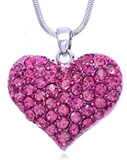 Best pink charm necklace Reviews