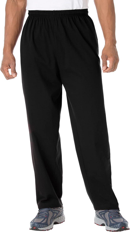KingSize Very popular Men's Big Tall Lightweight Bombing free shipping Jersey Sweatpants