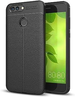 JDYS AYSMG For Huawei nova 2 Litchi Texture Soft TPU Anti-skip Protective Cover Back Case(Black) (Color : Black)