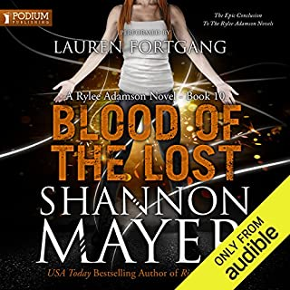 Blood of the Lost audiobook cover art