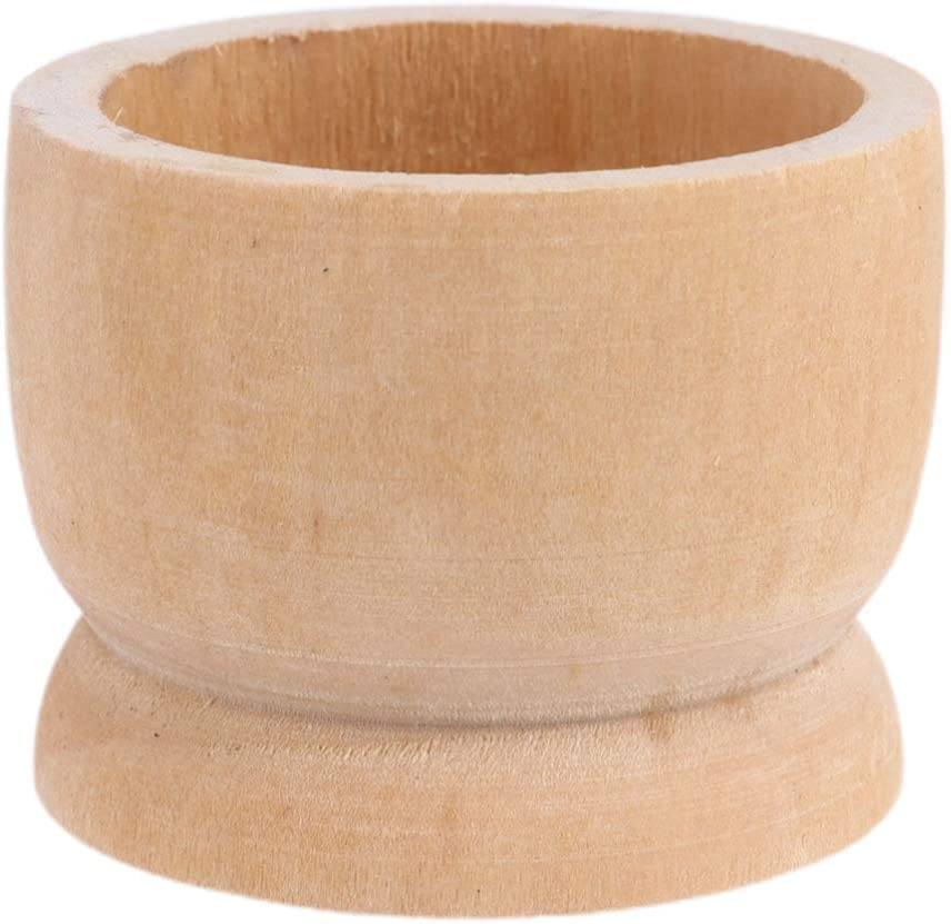 Selling rankings VALICLUD 12pcs Wooden Limited price Egg Cups Stand Tabletop Refrig Holders