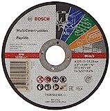 Bosch 2 608 602 385 - Disco de corte recto Rapido Multi Construction - ACS 60 V BF, 125 mm, 1,0 mm...