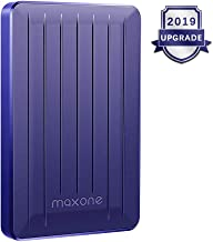320GB External Hard Drive Portable - Maxone Upgrade Portable HDD USB 3.0 for PC, Laptop, Mac, Xbox one, PS4, Chromebook, Smart TV - Blue