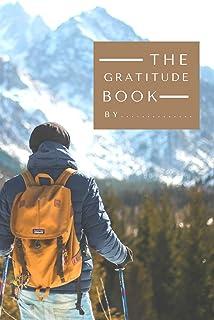 "Travel the gratitude book: Travel gratitude notebook journal for men - 6""x9"" gratitude book for write in the journal , dai..."