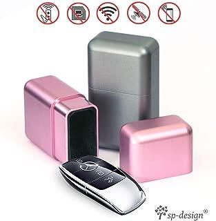 Phone Quebue Keyless Car Signal Blocker Box Key Fob Well Faraday Box for Car Keys