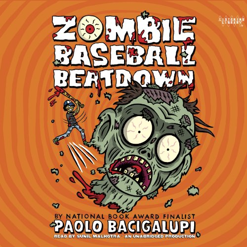 Zombie Baseball Beatdown audiobook cover art