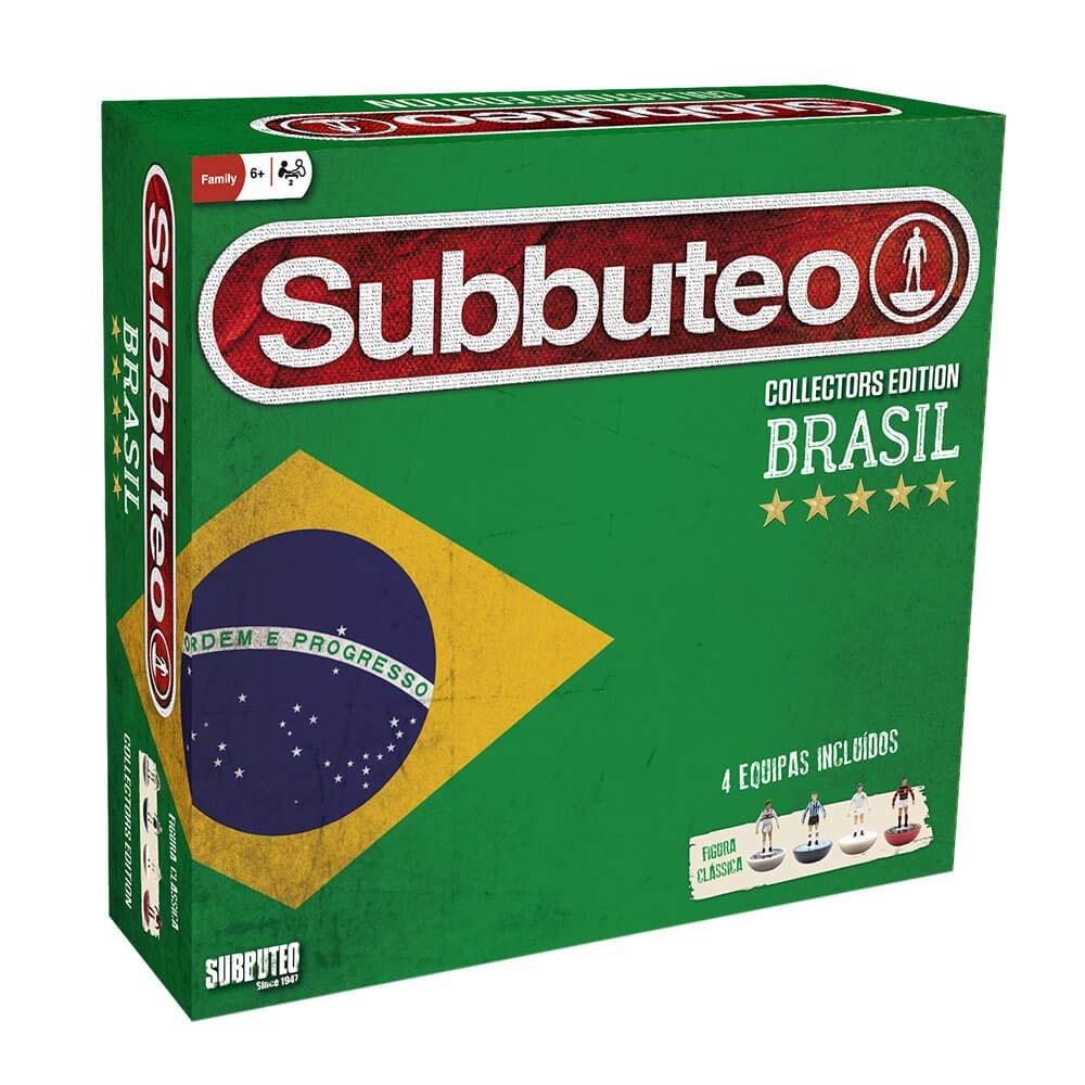 Eleven Force Subbuteo Playset Brasil Edición Coleccionista: Amazon ...
