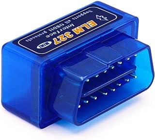 Super Mini ELM327 V2.1 Bluetooth with PIC1825K80 OBD2 Diagnostic Tool ELM 327 V2.1 Bluetooth(Blue)