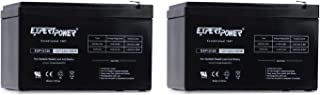 2 Pack ExpertPower 12 Volt 12 Ah Rechargeable Battery || EXP12120 Size 2 Pack - 12V 12 AH