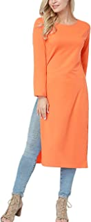 PARTY LADY Women's Casual Tunic Sweatshirt Long Sleeve Pullover Hoodie Dress(S-3XL)