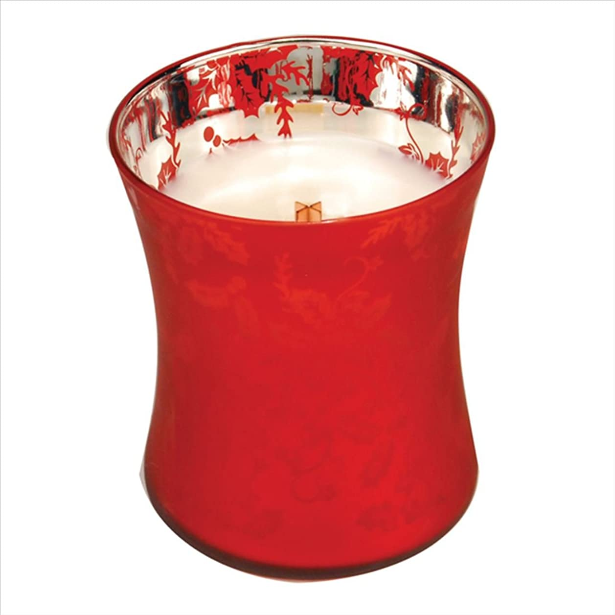 水を飲む雇用者端末Wood Wick ウッドウィック ダンシンググラスジャーキャンドルMサイズ  ウェルカムクリスマス