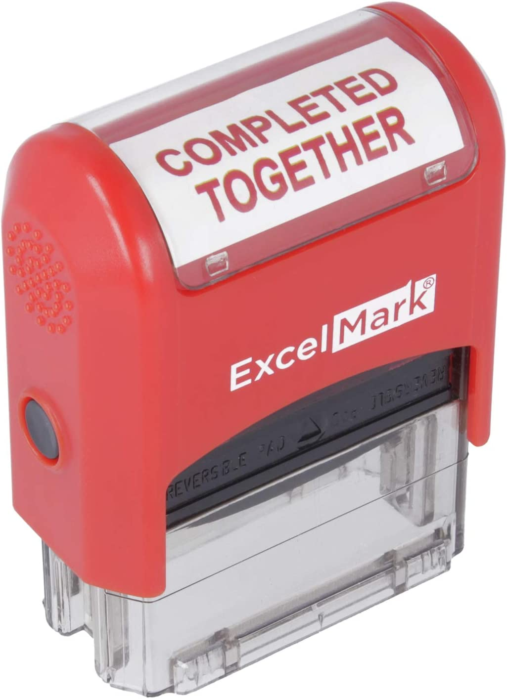 ExcelMark Self-Inking Rubber Teacher Grading Stamp - Completed Together