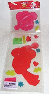 Disney Mickey and Minnie Mouse 14 Piece Christmas Window Gel Clings Decorations