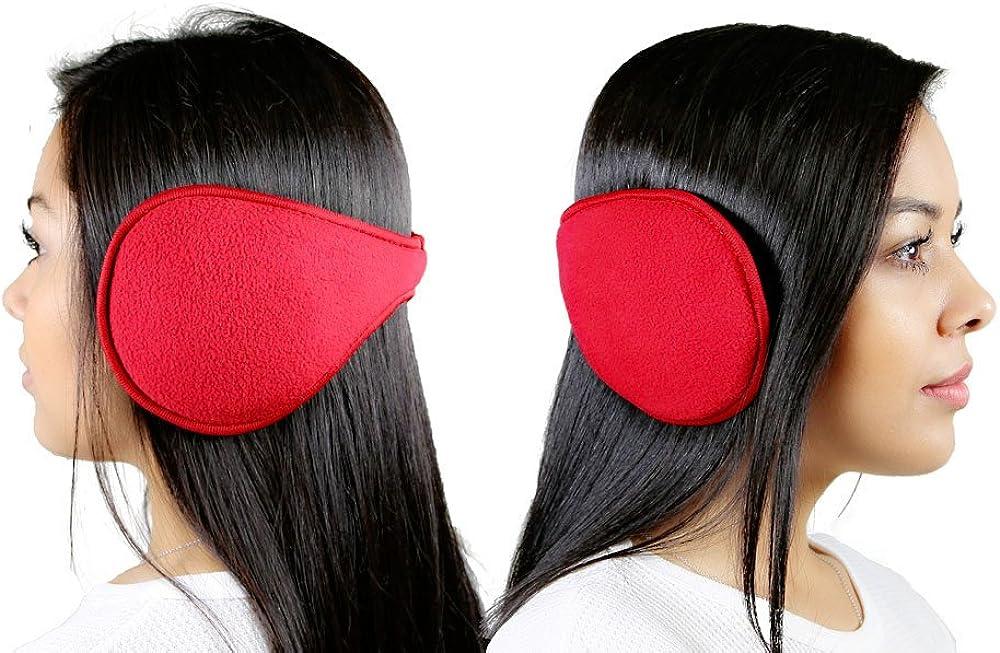 New & Stylish, Red Ear Warmers, For Men , Women , & Children!