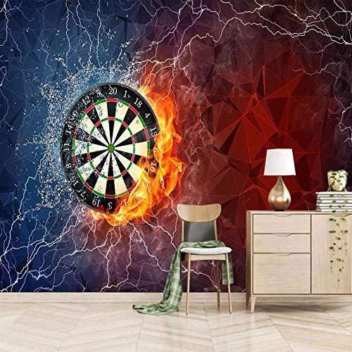 Tapete Wandbild 3D Fototapete Dartscheibe Wandtapete Foto Für Modernes Design Der Fernseh Hintergrund Wand-Kunst-Deko 200X140Cm