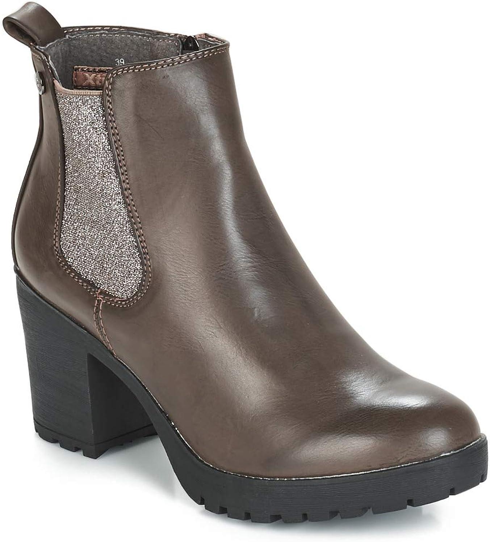XTI Damen 48455 Kurzschaft Stiefel