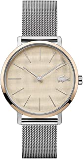 Quartz Watch with Stainless Steel Strap, Two Tone, 16 (Model: 2001072)