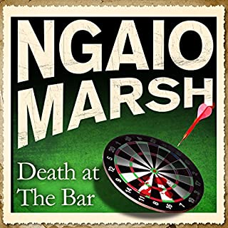 Death at the Bar audiobook cover art
