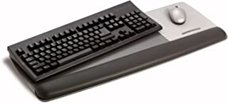 3M Gel Wrist Rest for Keyboard and Mouse with Tilt-Adjustable Platform, Soothing Gel with Durable, Easy to Clean Leatheret...