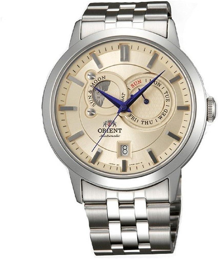Orient reloj hombre Classic Sun & Moon automática ET0P002W