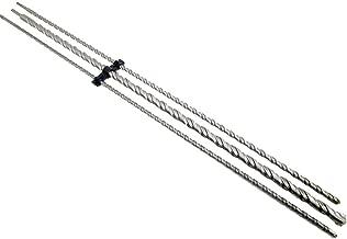 3pc 1000mm Long SDS Plus Hammer Drill Bit Set 12, 16, 24mm DR127