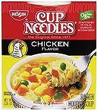 Nissin, Cup Noodles Soup, Chicken Flavor, 2.25 oz (case of 12)