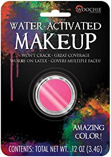 Woochie Water Activated Makeup - Professional Quality Halloween and Costume Makeup - (Hot Pink, 0.1 oz)