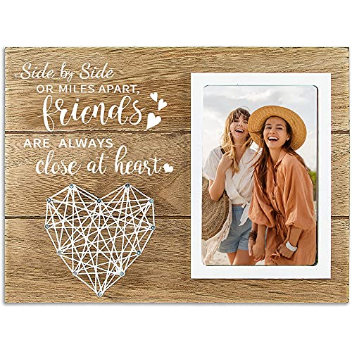 cocomong Best Friend Picture Frame, Friend Gifts for Women, Gifts for Best Friend, Long Distance Friendship Gifts, Bestfriend Gifts 4x6 Picture Frames