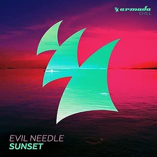 evil needle sunset