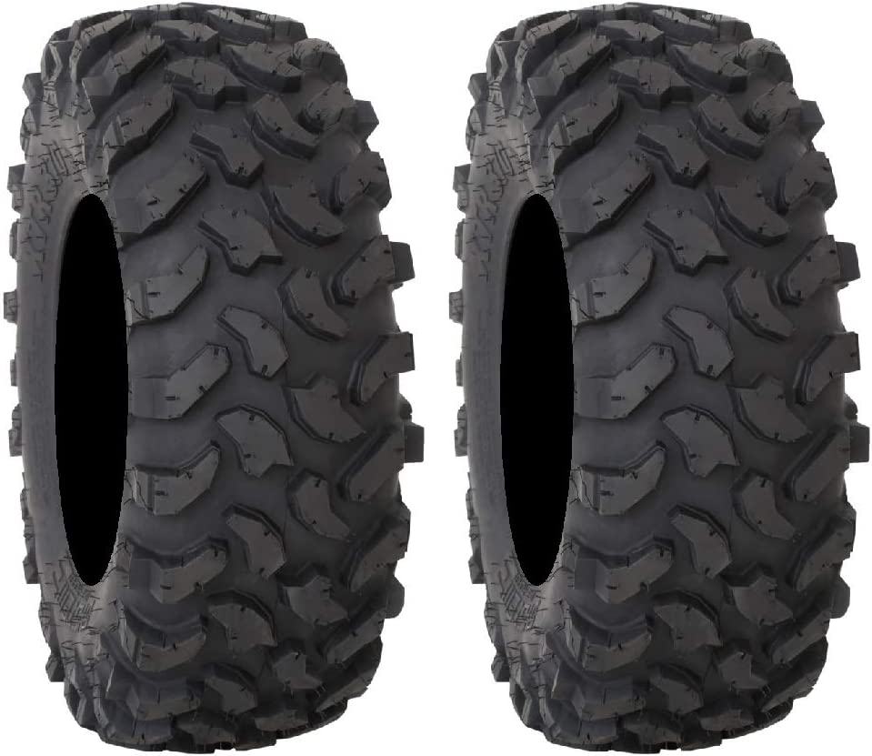 Pair of System 3 Cheap super special price XTR370 8ply 2 Tires 35x10-15 half Radial ATV