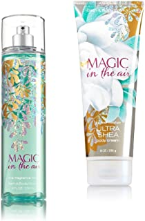 Bath & Body Works ~ Signature Collection ~ Magic in the Air ~ Winter 2016 ~ Gift Set ~ Fine Fragrance Mist & Ultra Shea Body Cream
