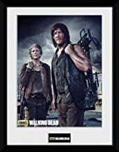 The walking dead Carol and Daryl poster 60 x 90 cms