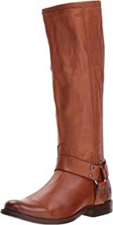 FRYE Women's Phillip Harness Tall Knee High Boot