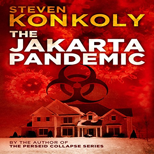 The Jakarta Pandemic audiobook cover art