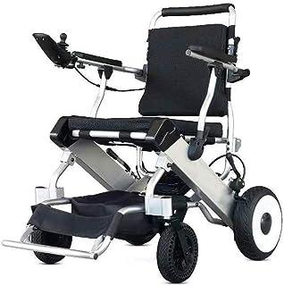 De peso ligero plegable sillas de ruedas eléctrica Silla de ruedas, 2020 compacto de energía móvil de Silla de ruedas eléctrica, pantalla LCD, batería de litio, la velocidad máxima 6km / h de luz sill