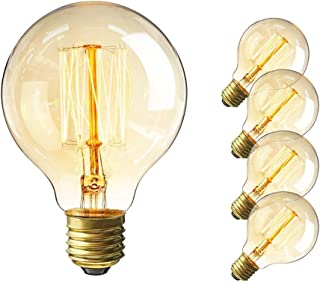 vintage light bulbs 60w