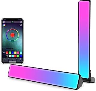 Zuukoo Smart LED Lightbar, RGB Smart LED Lampe mit Mehrere Lichteffekte, LED TV Hintergrundbeleuchtung, Gaming Lampe Sync ...
