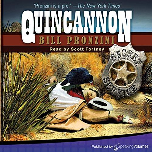 Quincannon audiobook cover art