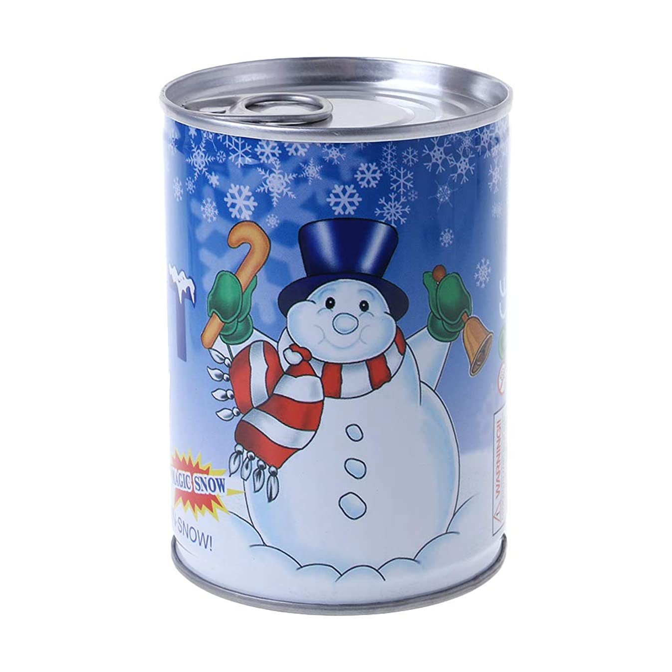 RingBuu 2018 Christmas Latest, Instant Fluffy Man-Made Magic Artificial Snow Cans Christmas Decoration DIY Gift
