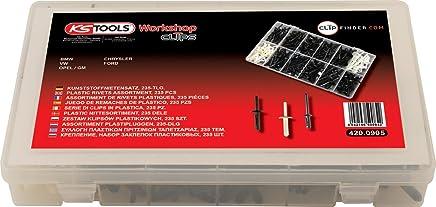 KS Tools 420.0905 Befestigungs-Clip-Satz - Kunststoffnieten, 235-tlg. 235-tlg. 235-tlg. B00J8LLZB0 | Neuheit Spielzeug  856068