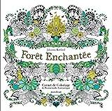 Forêt enchantée - Carnet de coloriage et Chasse au trésor antistress