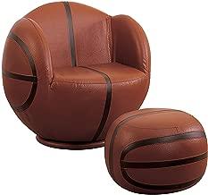 Acme 05527 2-Piece All Star Set Chair and Ottoman, Basketball