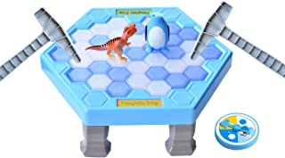 HOWADE Penguin Trap Game Balance Ice Cubes Icebreaking Games Save The Penguin Interactive Puzzle Table Family Game